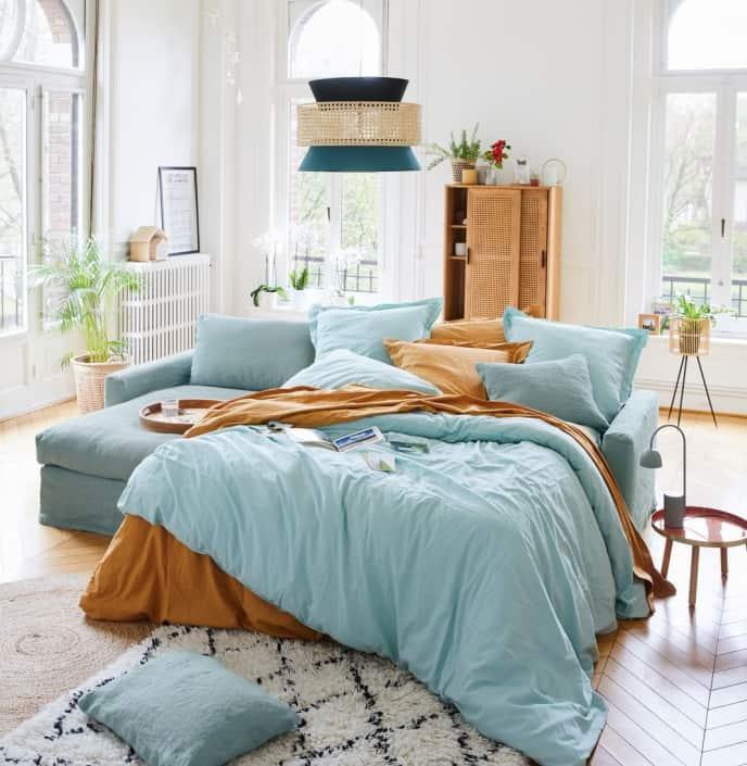 Home Spirit Bidart Bett geöffnet